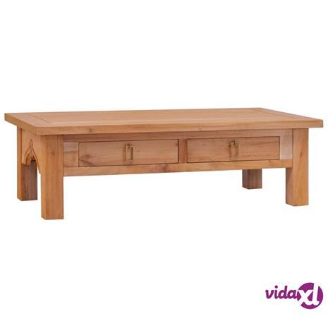 vidaXL Sohvapöytä 100x50x30 cm täysi mahonki