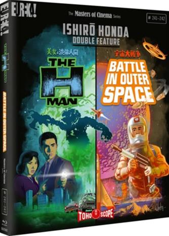 Ishirô Honda: The H-Man & Battle in Outer Space - Limited Edition (Blu-ray), elokuva