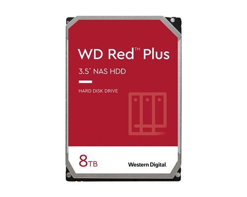 "WD Red Plus (8 TB, 3,5"", SATA-600) WD80EFBX, NAS-kovalevy"