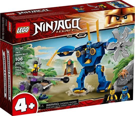 Lego Ninjago 71740, Jayn Elektrorobotti