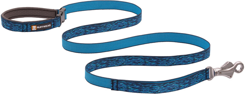 Ruffwear Flat Out Leash, oceanic distortion