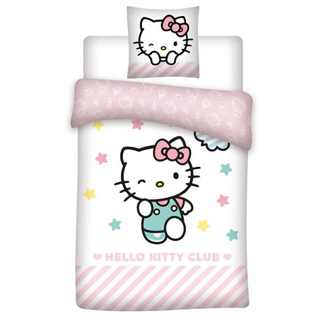 Bed Linen - Adult size 140x200 cm - Hello Kitty (1000115)