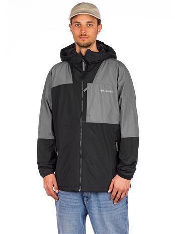 Columbia Wallowa Park Jacket black / city grey Miehet