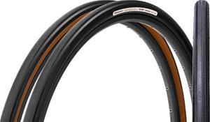 Panaracer GravelKing Slick Plus Taitettava rengas 35-622, black/brown