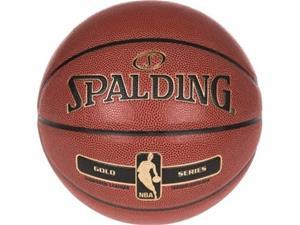 Spalding NBA Gold Indoor/Outdoor -koripallo, koko 7