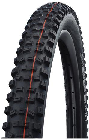 "SCHWALBE Hans Dampf Super Gravity Evolution Folding Tyre 26x2.35"""" TLE E-25 Addix Soft, black"