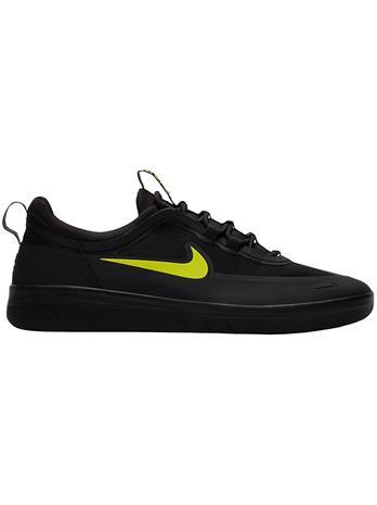 Nike SB Nyjah Free 2 Skate Shoes black / cyber / black / black