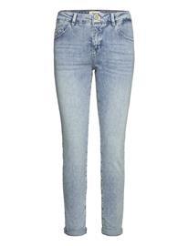 MOS MOSH Bradford Smooth Jeans Tiukat Farkut Sininen MOS MOSH LIGHT BLUE