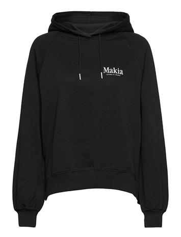 Makia Key Hooded Sweatshirt Huppari Musta Makia BLACK