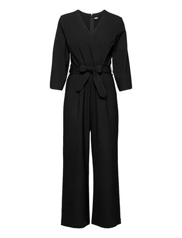 R-Collection Milja Overalls Jumpsuit Haalari Musta R-Collection BLACK