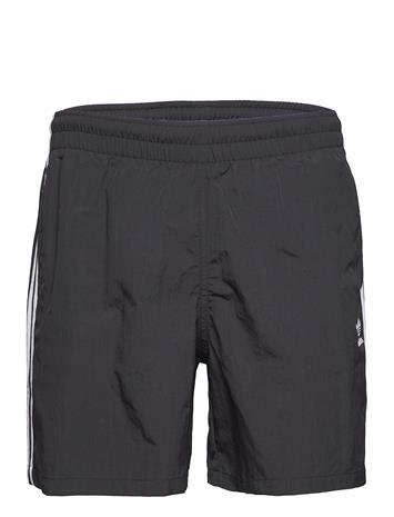 adidas Originals Adicolor Classics 3-Stripes Swim Shorts Uimashortsit Musta Adidas Originals BLACK
