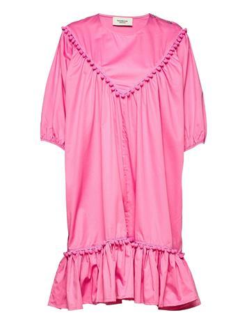 Ivana Helsinki Hertta Dress Polvipituinen Mekko Vaaleanpunainen Ivana Helsinki PINK
