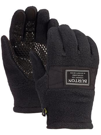 Burton Ember Fleece Gloves true black Jätkät