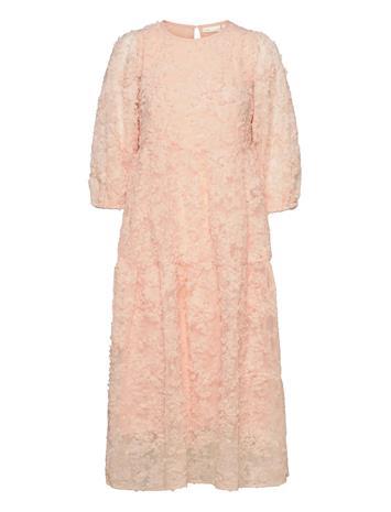 InWear Giciiw Dress Polvipituinen Mekko Vaaleanpunainen InWear CREAM TAN