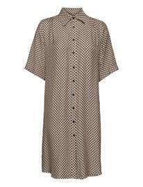 SAND 3437 - Asia Dress Ss Dresses Shirt Dresses Vaaleanpunainen SAND SOFT PINK
