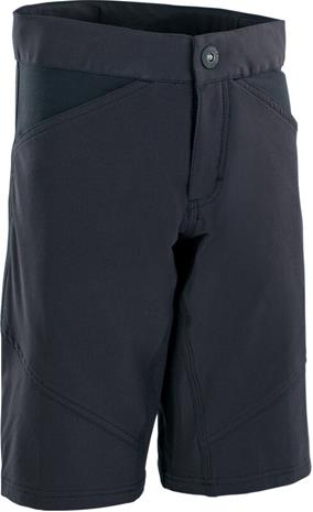 ION Scrub AMP Bike Shorts Youth, black