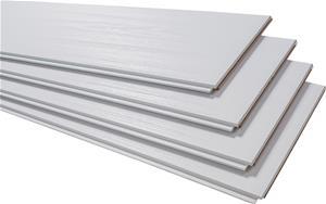 Kattopaneeli Maler MDF Hopeapaju 8 x 185 x 2070 mm