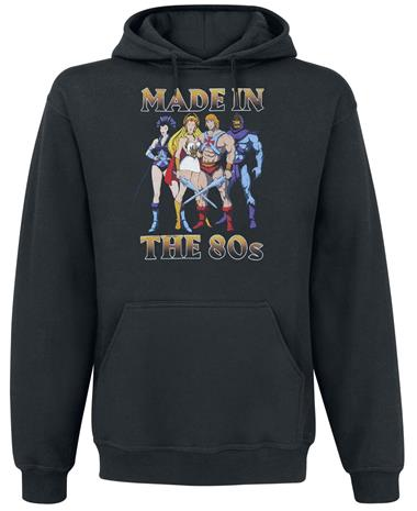 Masters Of The Universe - Made In The 80´s - T-paita - Miehet - Musta