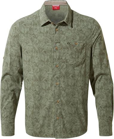 Craghoppers NosiLife Kai Longsleeved Shirt Men, sage print