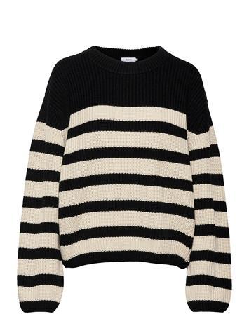 Stylein Aubry Sweater Neulepaita Musta Stylein STRIPED