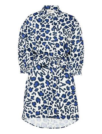 Ivana Helsinki Inari Dress Lyhyt Mekko Sininen Ivana Helsinki BLUE