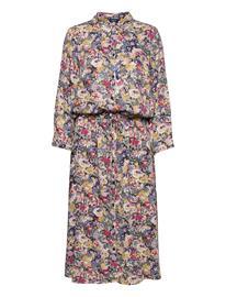Joules Winslet L/S Dresses Shirt Dresses Sininen Joules BLUEFLR