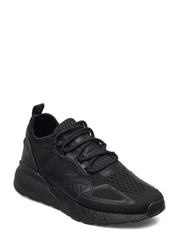 adidas Originals Zx 2k Boost J Matalavartiset Sneakerit Tennarit Musta Adidas Originals CBLACK/CBLACK/SHOPNK