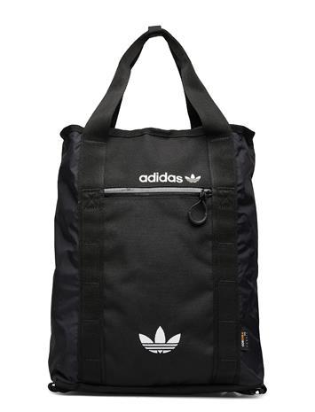 adidas Originals Adv Tote Reppu Laukku Musta Adidas Originals BLACK/WHITE