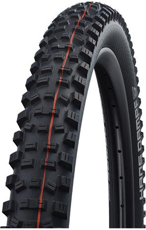 "SCHWALBE Hans Dampf Super Trail Evolution Folding Tyre 26x2.35"""" TLE E-25 Addix Soft, black"