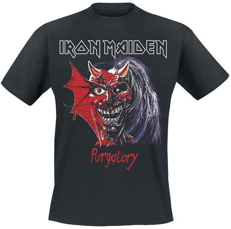 Iron Maiden - Killers Purgatory - T-paita - Miehet - Musta
