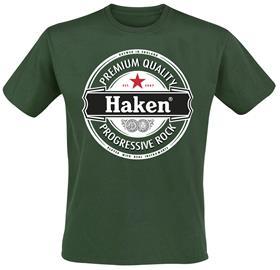 Haken - Premium - T-paita - Miehet - Vihreä
