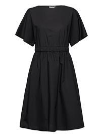 Marimekko Saapuu Solid Dress Polvipituinen Mekko Musta Marimekko BLACK