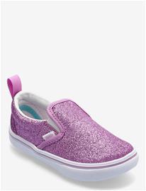 VANS Td Comfycush Slip-On V Matalavartiset Sneakerit Tennarit VANS (GLITTER) ORCHID/TRUE WHT