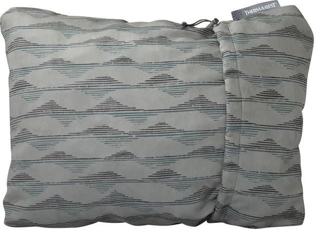 Therm-a-Rest Compressible Pillow L, gray mountains