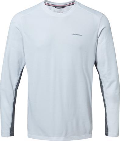 Craghoppers NosiLife Talen Longsleeved Shirt Men, optic white, Miesten takit, paidat ja muut yläosat