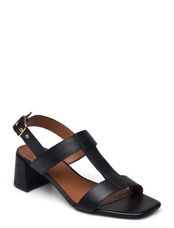 Billi Bi Sandals 2607 Shoes Heels Pumps Sling Backs Musta Billi Bi BLACK CALF 80