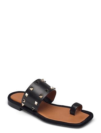 Billi Bi Sandals 2953 Shoes Summer Shoes Flat Sandals Musta Billi Bi BLACK CALF 80