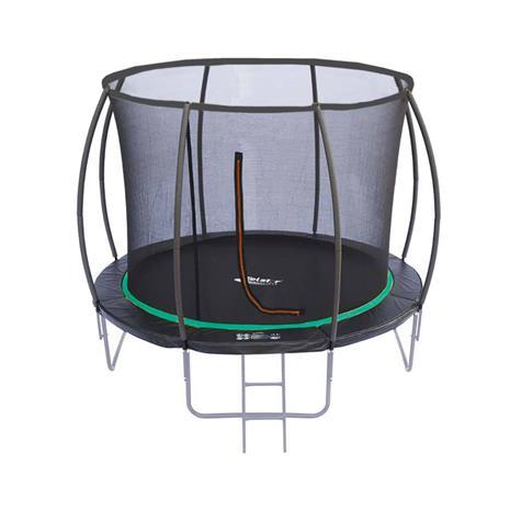 N1 Pumkin trampoliini + kaupan päälle turvaverkko ja tikkaat d. 427 cm