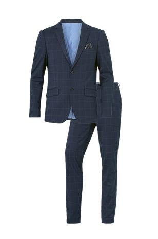 lindbergh Puku Checked Knitted Suit