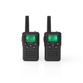 Radiopuhelin kantama 10 km 8 kanavaa vox latausasema 2 osaa musta