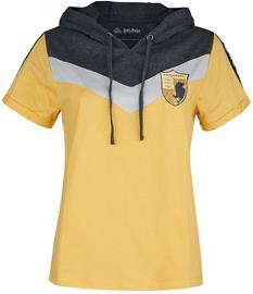 Harry Potter - Hufflepuff - T-paita - Naiset - Keltainen, Naisten paidat, puserot, topit, neuleet ja jakut