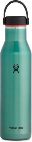 Hydro Flask Wide Mouth Trail Lightweight Bottle with Standard Flex Cap 621ml, topaz, Retkeilytarvikkeet