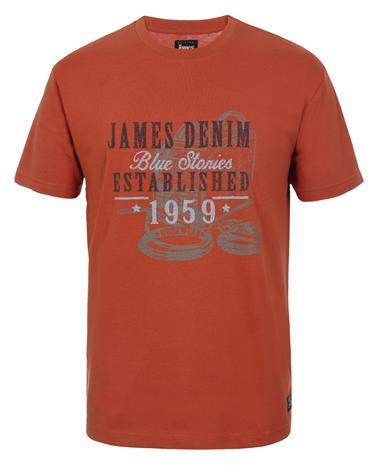James Althan miesten t-paita, Miesten takit, paidat ja muut yläosat
