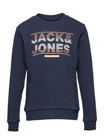 Jack & Jones Jjmount Sweat Crew Neck Jr Svetari Collegepaita Sininen Jack & J S NAVY BLAZER