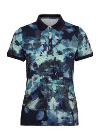 Röhnisch Direction Poloshirt T-shirts & Tops Polos Sininen Röhnisch BLUE UTOPIA
