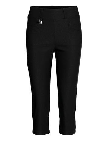 Röhnisch Embrace Capri Trousers Capri Trousers Musta Röhnisch BLACK