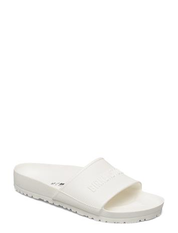 Birkenstock Barbados Eva Shoes Summer Shoes Pool Sliders Valkoinen Birkenstock WHITE, Miesten kengät