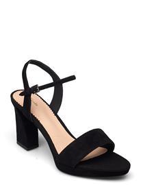 Clarks Vista Strap Korolliset Sandaalit Musta Clarks BLACK SDE, Naisten kengät
