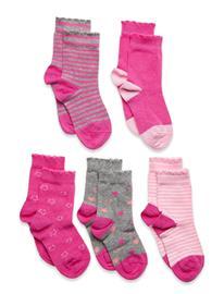 Schiesser Socks Socks & Tights Socks Vaaleanpunainen Schiesser ASSORTED 1, Lastenvaatteet