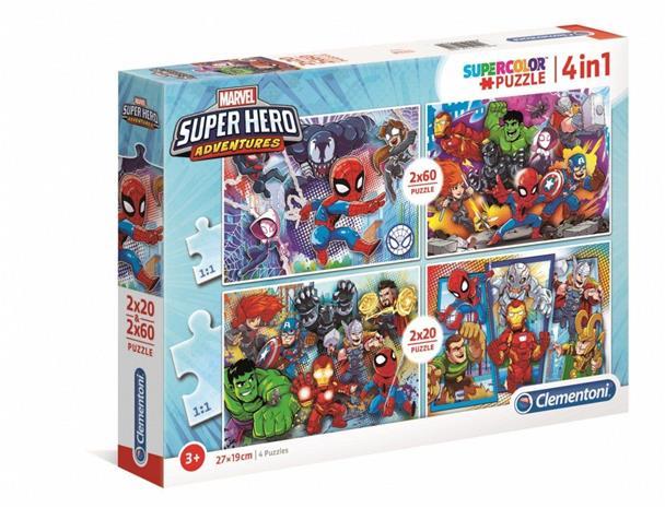Marvel Super Hero Palapelisetti 4 in 1
